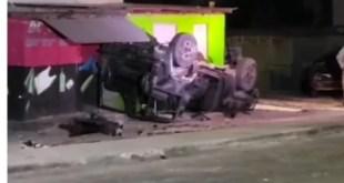 JDF Jeep Crash in West Kingston [Video]