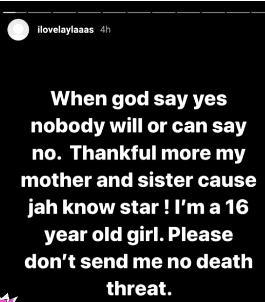 This School Girl Alleges that Intence got her Pregnant