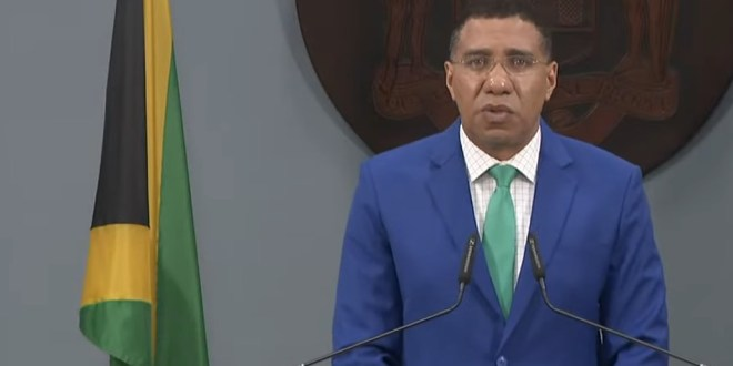 PM Holness Addresses Red Hills Road Murder