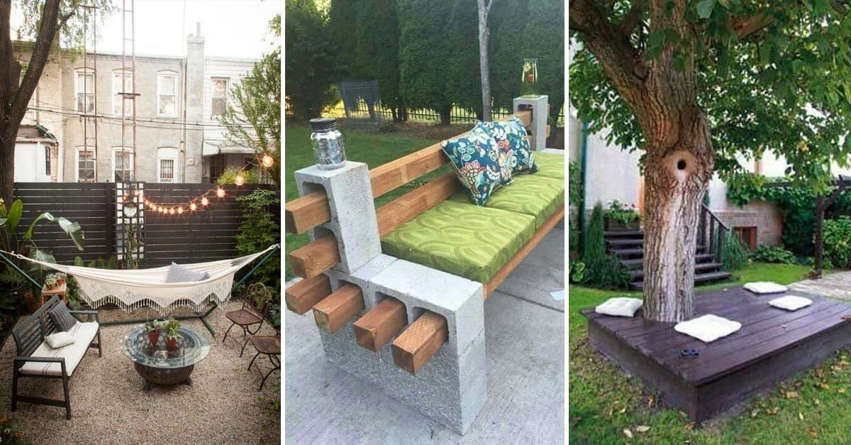 cheap backyard seating ideas yard surfer