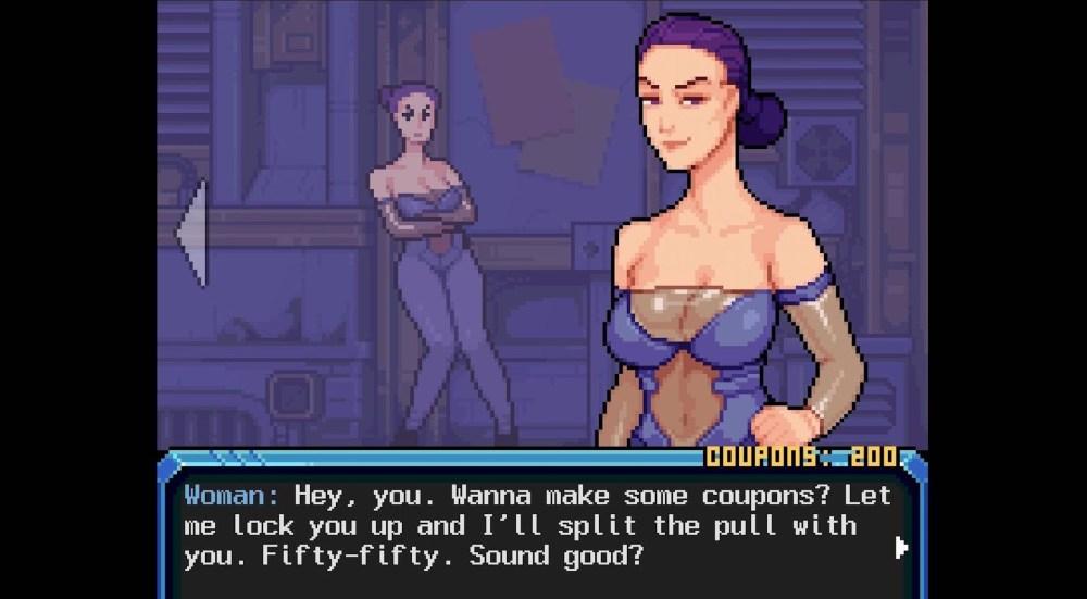 Hardcoded — original erotic game
