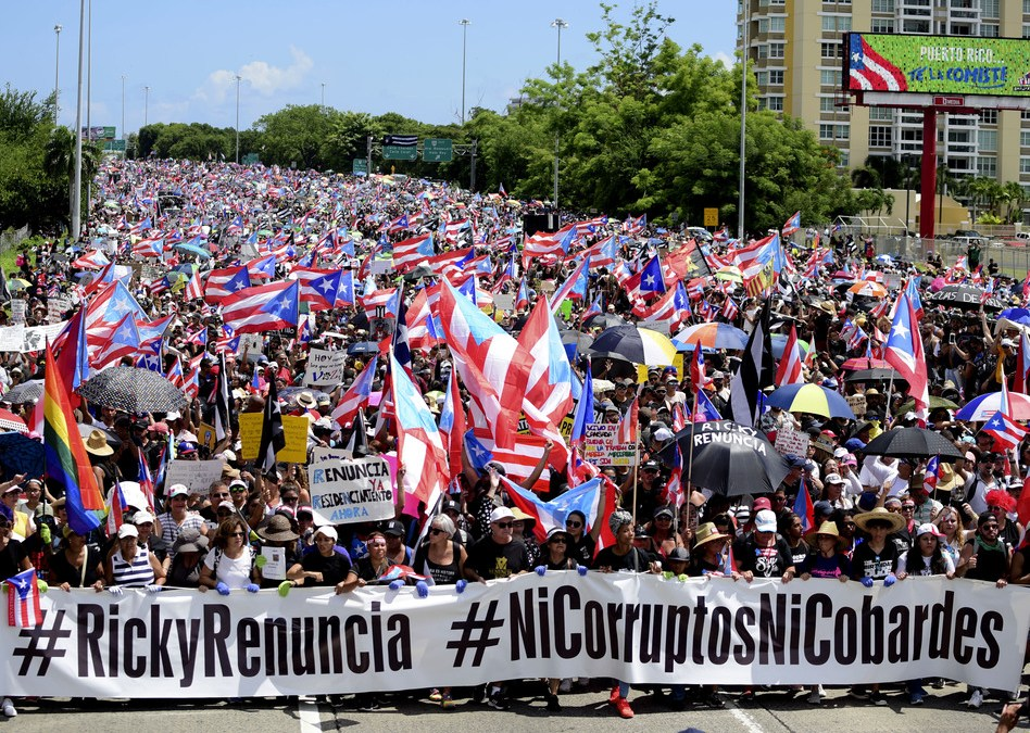 Puerto Ricans Stand Up (NPR Code Switch)