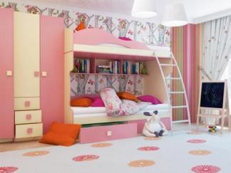 1Г. Кровать 2-этаж + тахта РАДУГА