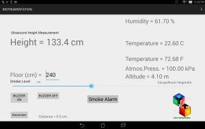 Android App for instrumentation