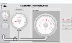 Pressure Calibration Simulator