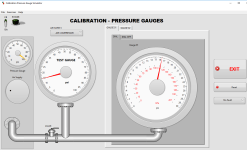 Pressure Calibration Simulator