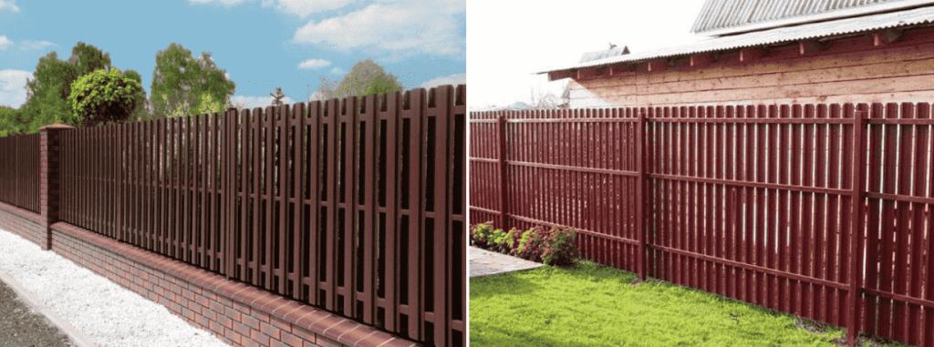 какой забор лучше для дачи
