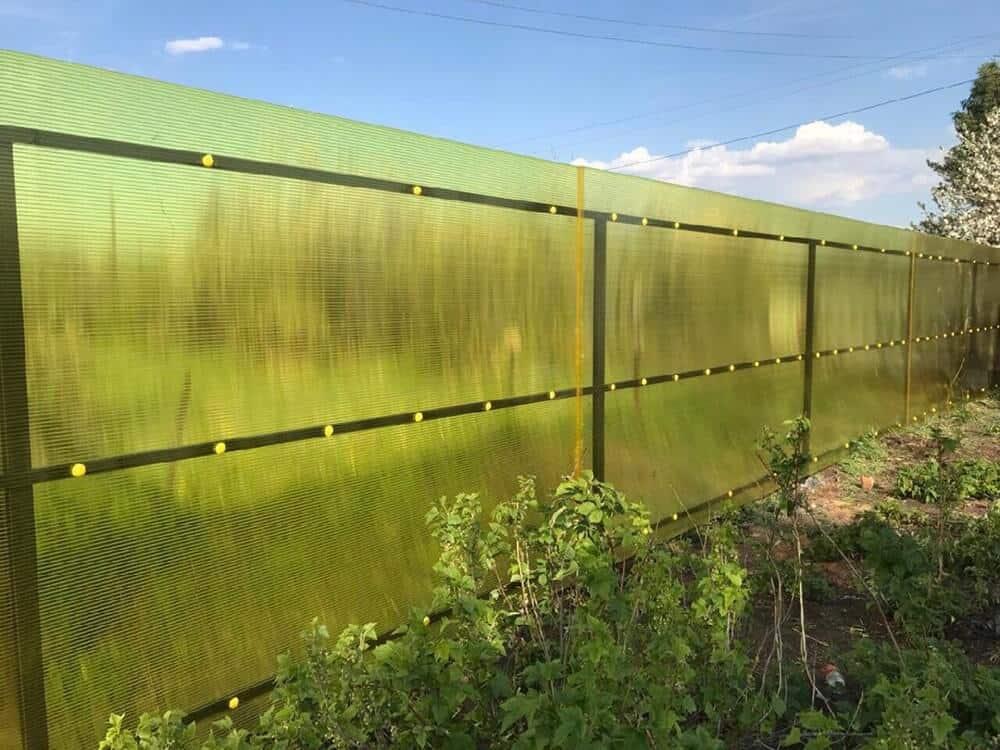 какой забор сделать на даче