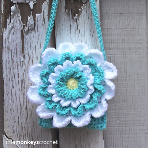 Little Girl's Wildflower Purse