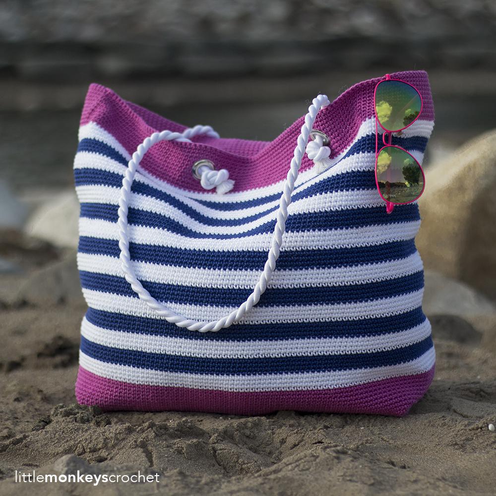 Classic Beach Bag (Adult & Child Sizes)