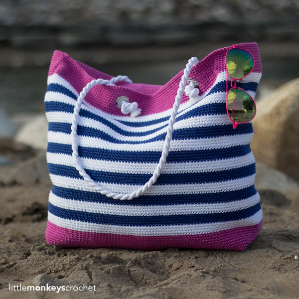 Classic Beach Bag (Adult & Child Sizes)