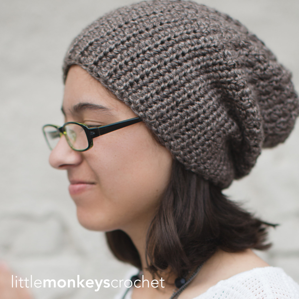 Slouch Hat Crochet Pattern Unique Decorating