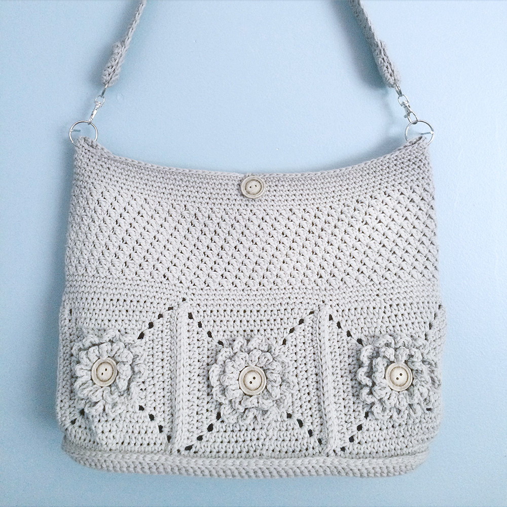 Wildflower Shoulder Bag (Crochet-Along)