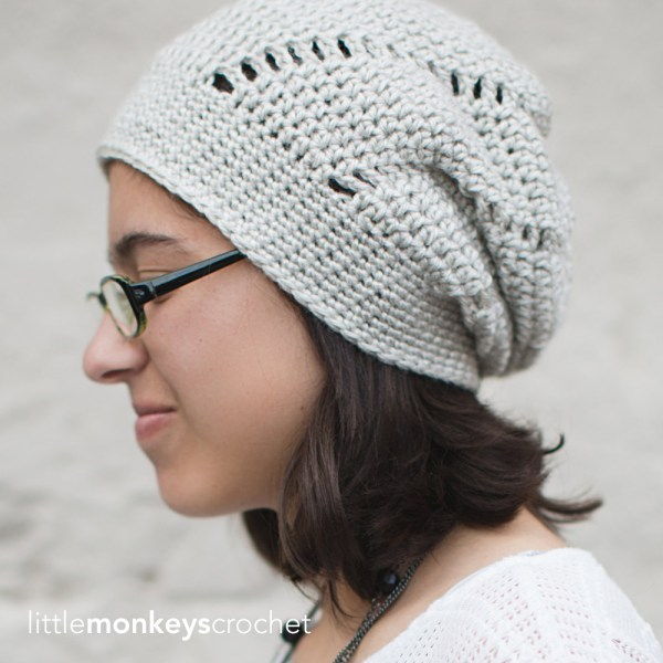 Snow Capped Slouch Hat