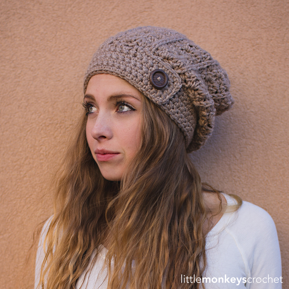 Slouch Hat Crochet Pattern Simple Ideas