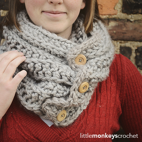 Thick 'n Cozy Ribbed Cowl