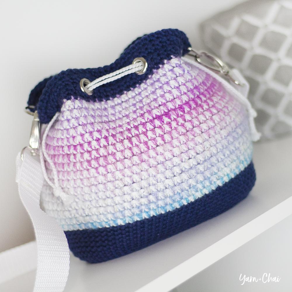 Mosaic Bucket Bag Crochet Along