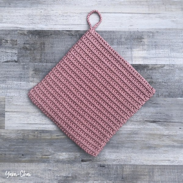 Ribbed Potholder