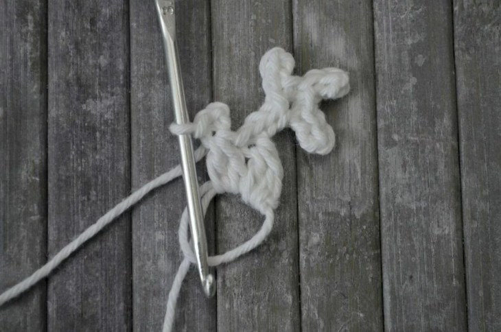 Easy snowflake crochet pattern yarnandy 19