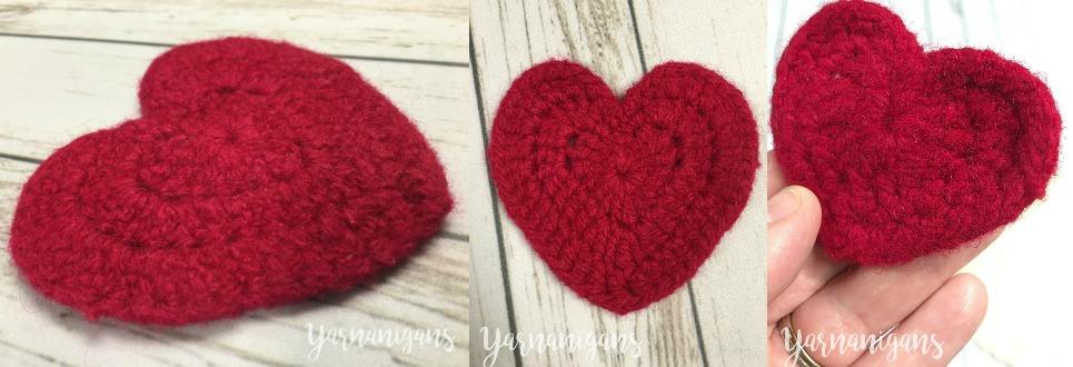 crochet blog heart free pattern felted heart