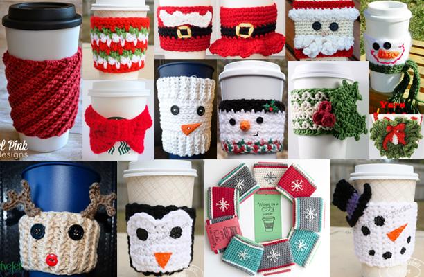 Mug Coffee Sleeve Knitting Patterns