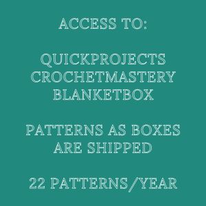 digital crochet membership banner