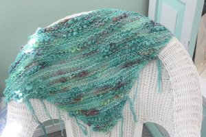 Wool Company - Bandon by the Sea Shawl