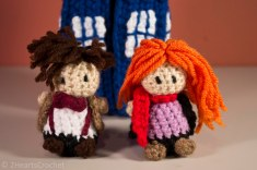 Amy Pond and her Raggedy Doctor