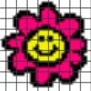 Free Sample Flower – (Chart/Graph AND Row-by-Row Written Instructions)