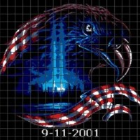 9-11-01 Eagle (Graph AND Row-by-Row Written Crochet Instructions) - 03