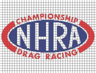 NHRA Championship Drag Racing (Graph AND Row-by-Row Written Crochet Instructions) - 01