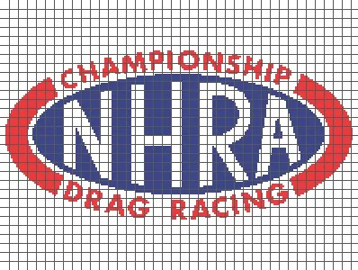NHRA Championship Drag Racing (Graph AND Row-by-Row Written Crochet Instructions) – 01