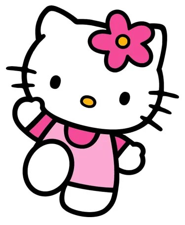 Hello Kitty Wave – (Chart/Graph AND Row-by-Row Written Instructions) – 01
