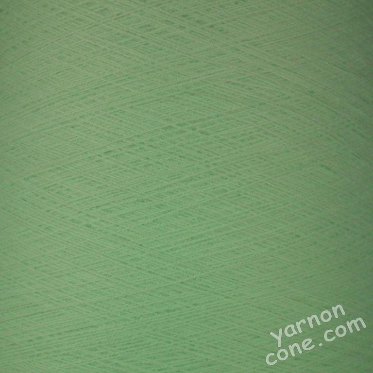 2/30s high bulk acrylic machine knitting yarn on cone 1 2 ply soft mint green