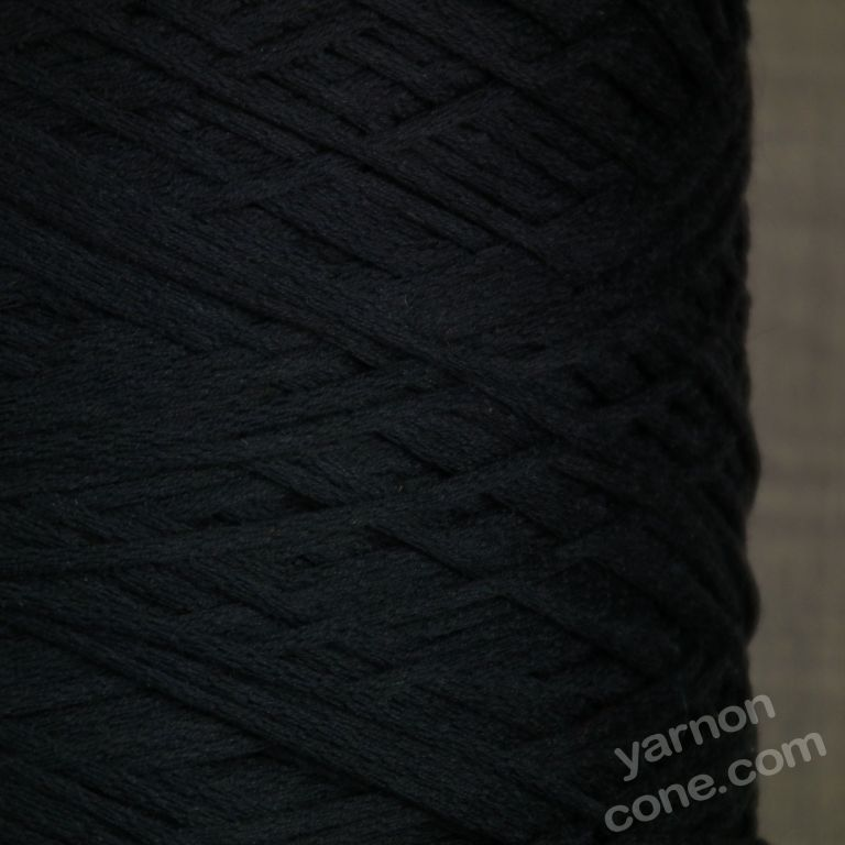 Peruvian Pima cotton 4 ply soffio soft cotton yarn on cone knit crochet weave navy blue