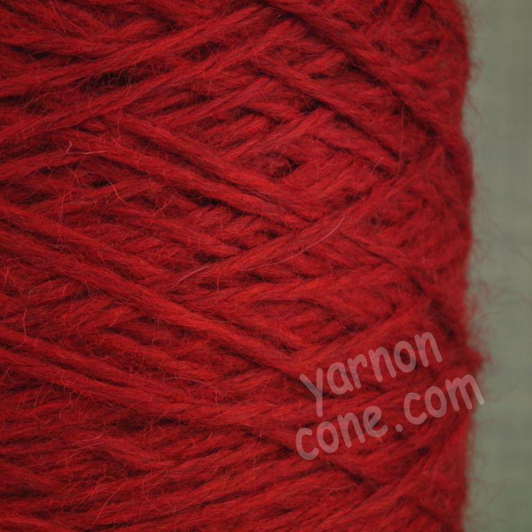 alpaca merino wool yarn aran weight soft knitting red