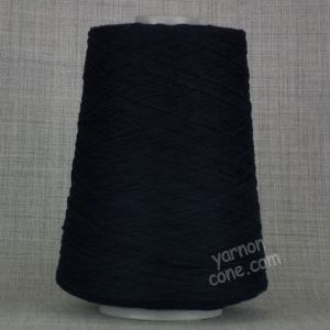 Navy blue cashmere merino 3 ply yarn on cone wool hand machine knitting UK