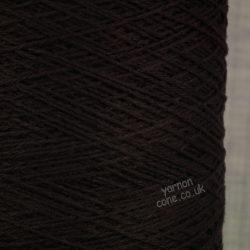 Todd & Duncan pure cashmere Coned yarn knitting yarn 3/28s NM dark brown