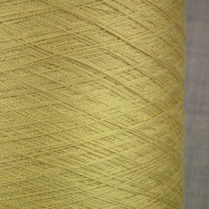 Pure silk cobweb yarn 2/60s NM italian 2/120NM on cone weaving knitting - gold colour shade