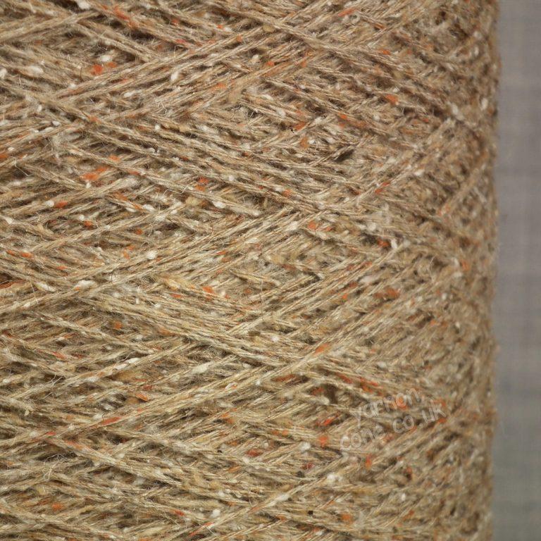 Tweedy tibet yarn with silk bourette fleck merino 4 ply hand machine knitting weaving uk yarn supplier