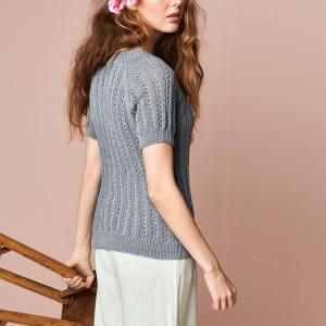 Hefte 2104-6 Lavendel T-Skjorte
