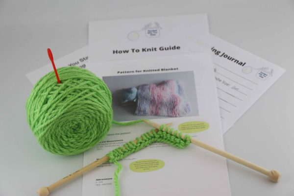 Knitting kit for kids