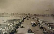 Incomplete Howrah bridge 1935