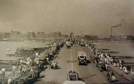 Incomplete Howrah bridge 1935