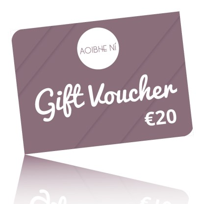 a 20 Euro gift voucher card