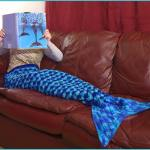 Crochet Tutorial: Mermaid Tail Afghan Pattern—3 Sizes (Small: Child, Medium: Teen, Large: Adult)