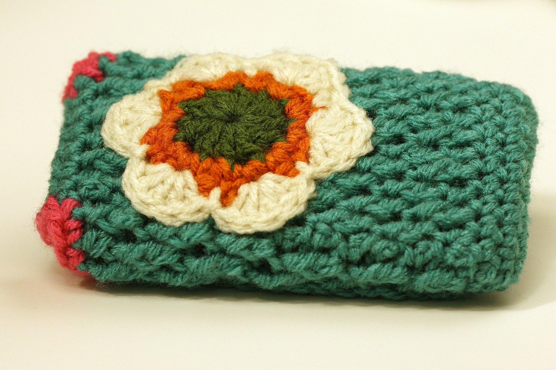 Crochet Tutorial Cell Phone Case With Secret Pocket Yarnutopia By