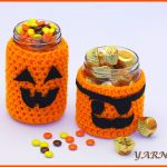 Crochet Tutorial: Seasonal Jar Covers