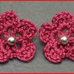 Crochet Tutorial: Earring Embellishment