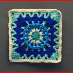 Crochet Tutorial: Real Wheel Granny Square